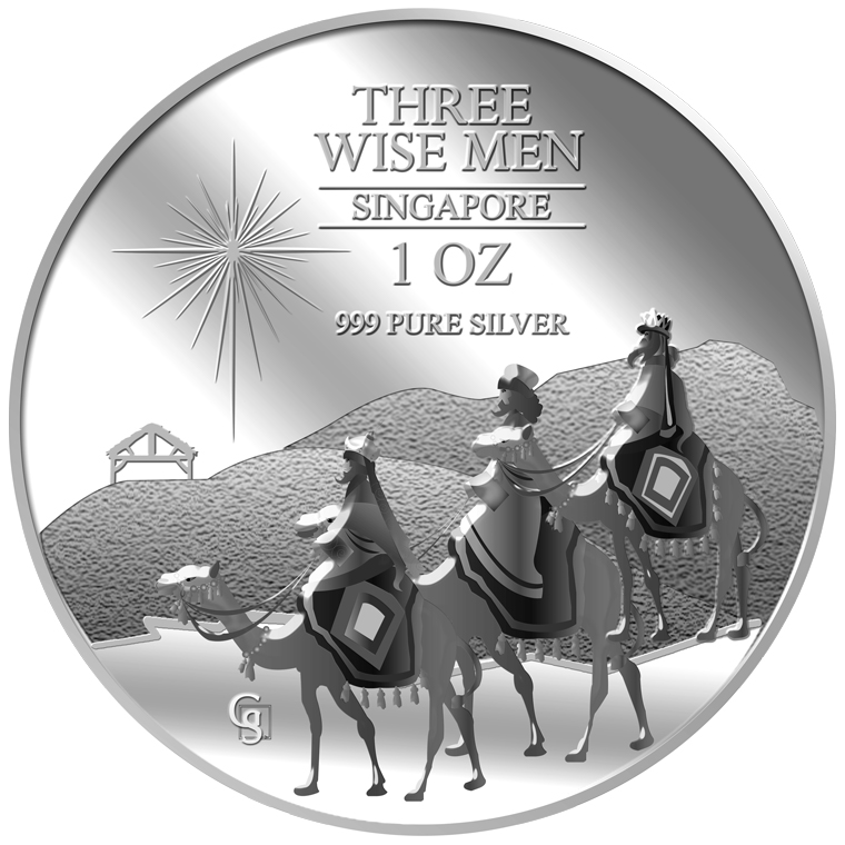 1oz The Wise Men Silver Medallion (2ND LAUNCH)