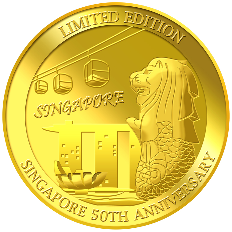 Singapore Commemorative Gold Collection