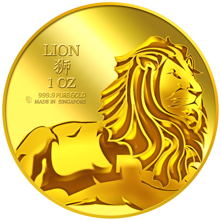 1oz Lion of Judah Gold Medallion (4TH LAUNCH)