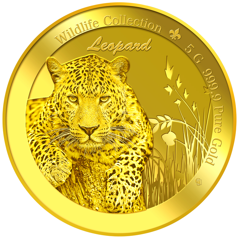 5g Leopard Gold Coin