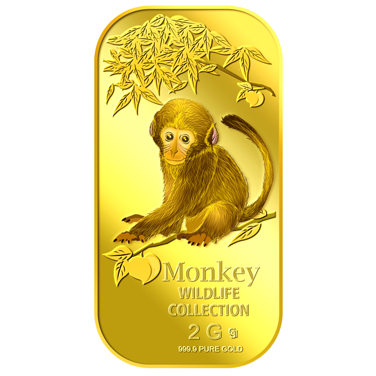 2g Baby Monkey Gold Bar