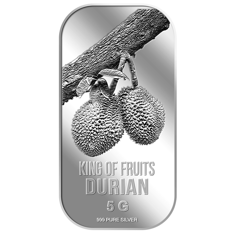 5g King of Fruits Durian Silver Bar