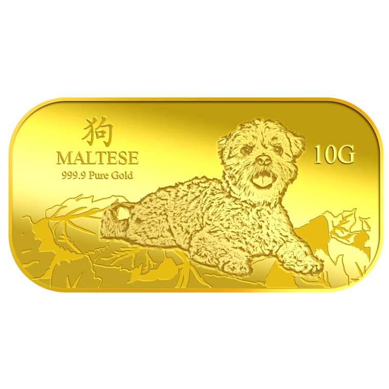10g Maltese Gold Bar