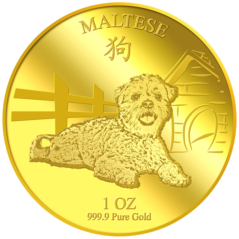 1oz Maltese Gold Coin