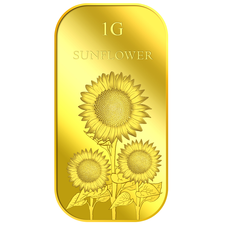 1g Sunflower Gold Bar