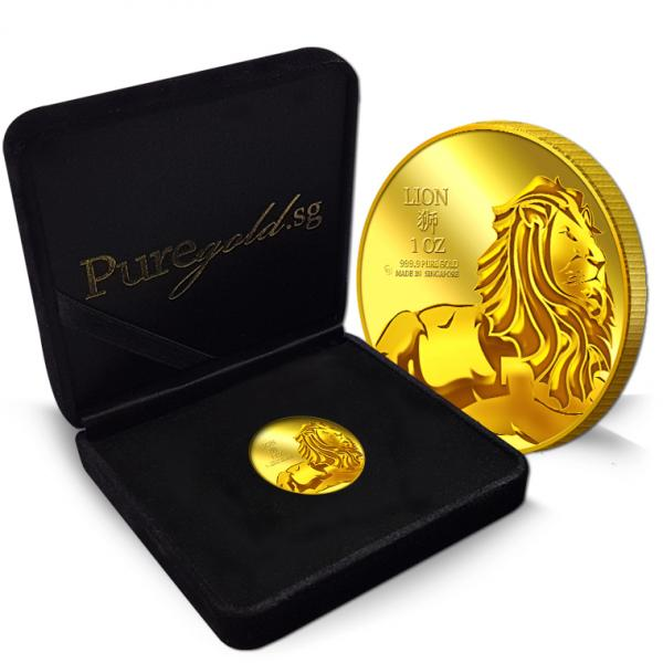 1oz lion of judah gold coin  4th launch